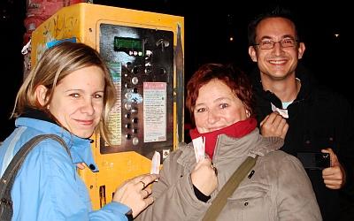 Pri automate s lístkami